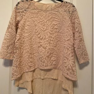 NY&C Lace Blouse